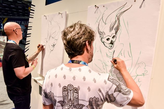 Comic Con Lima tendrá concurso de dibujo BatallArt