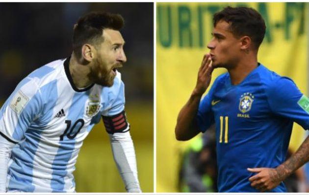 Argentina vs. Brasil: la 'Canarinha' vale 360 millones de dólares más que la 'Albiceleste'