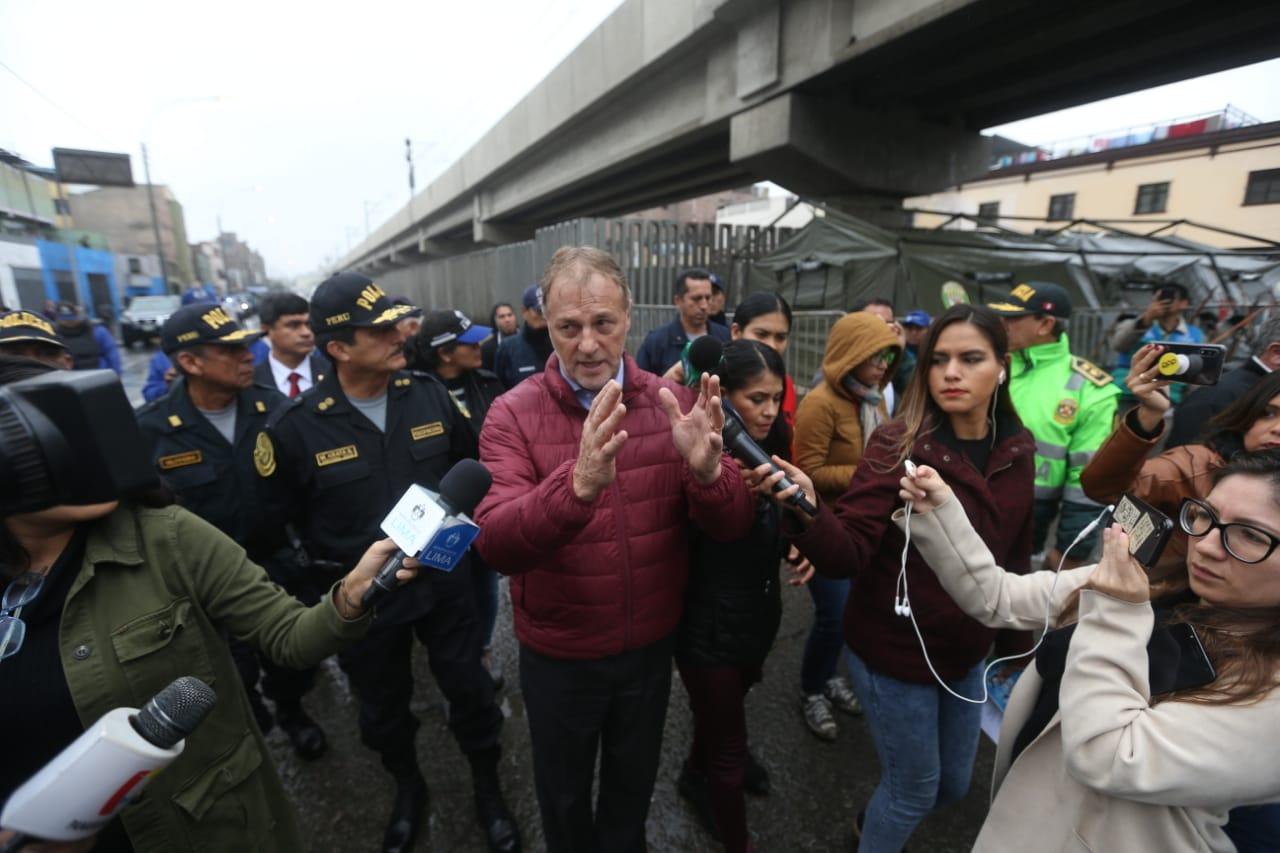 Jorge Muñoz cuestiona a alcalde Puente Piedra por participar en marcha contra peajes
