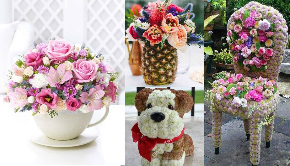 Día De La Madre 10 Increíbles Arreglos Florales Para