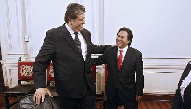 """Toledo: Estoy """"fuertemente apenado por el fallecimiento del ex presidente García"""""""