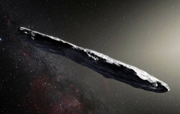 Primer asteroide interestelar tiene inusual forma alargada