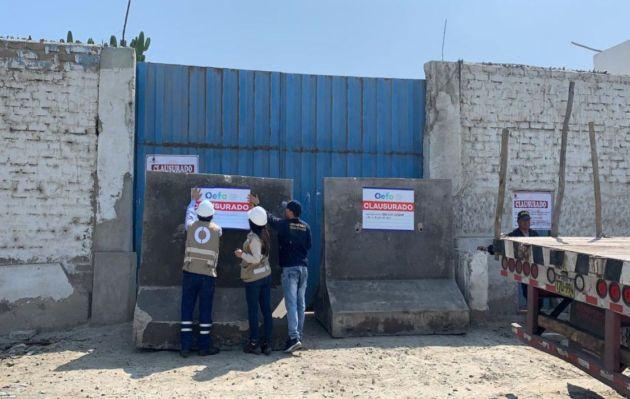 Clausuran establecimiento industrial pesquero por afectar mar de Chimbote