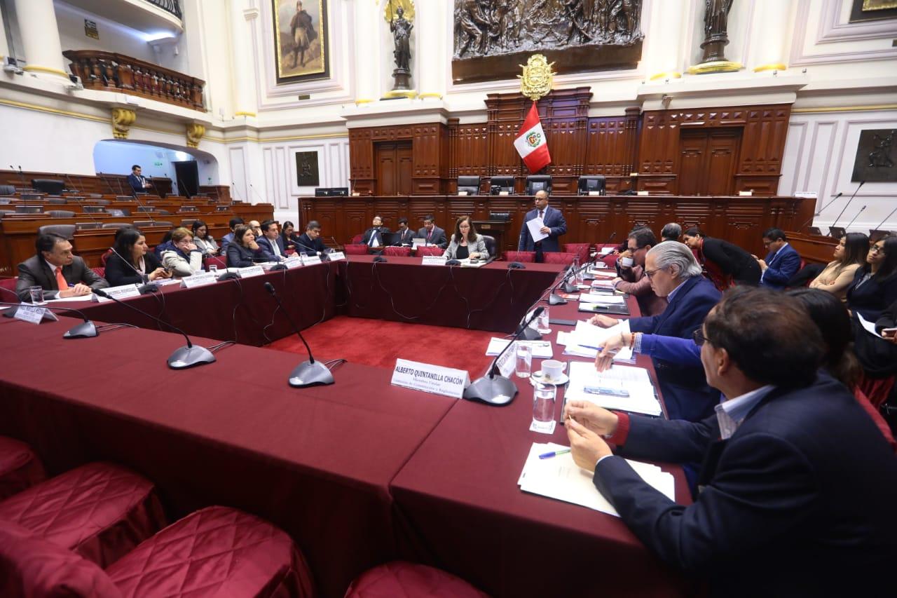 Comisión de Constitución aprueba parte del proyecto de ley de inscripción de organizaciones políticas