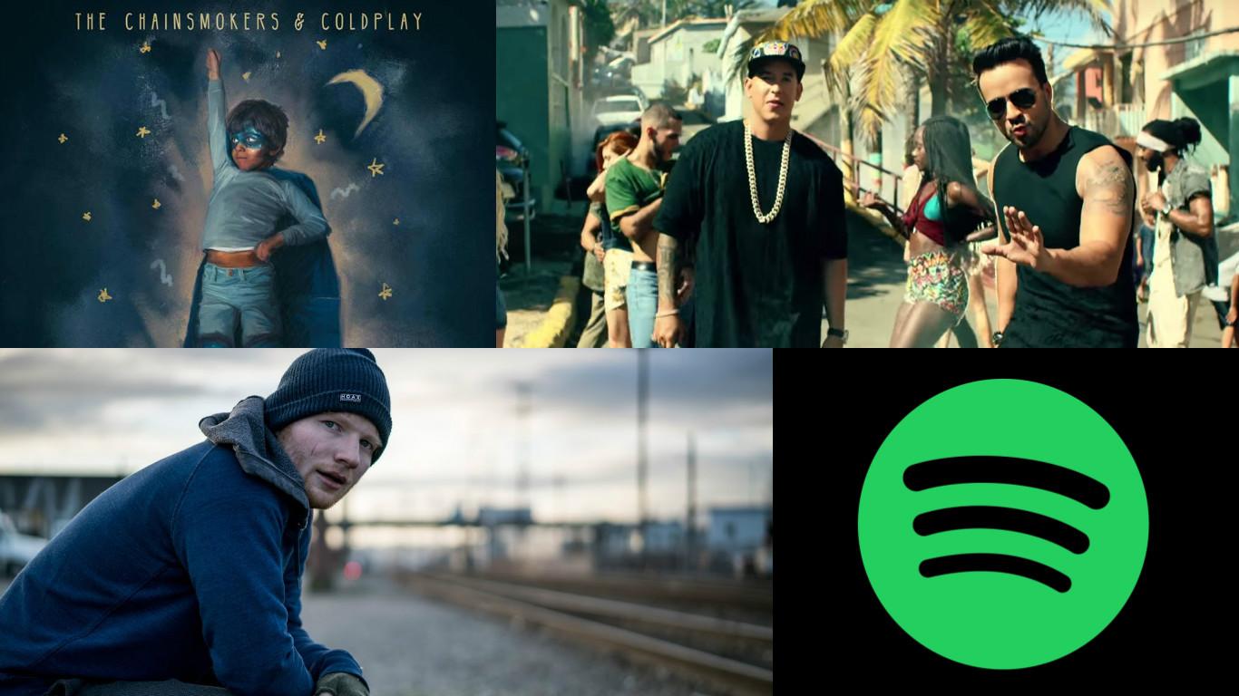 Spotify: Estas fueron las canciones más escuchadas en el 2017 [FOTOS]