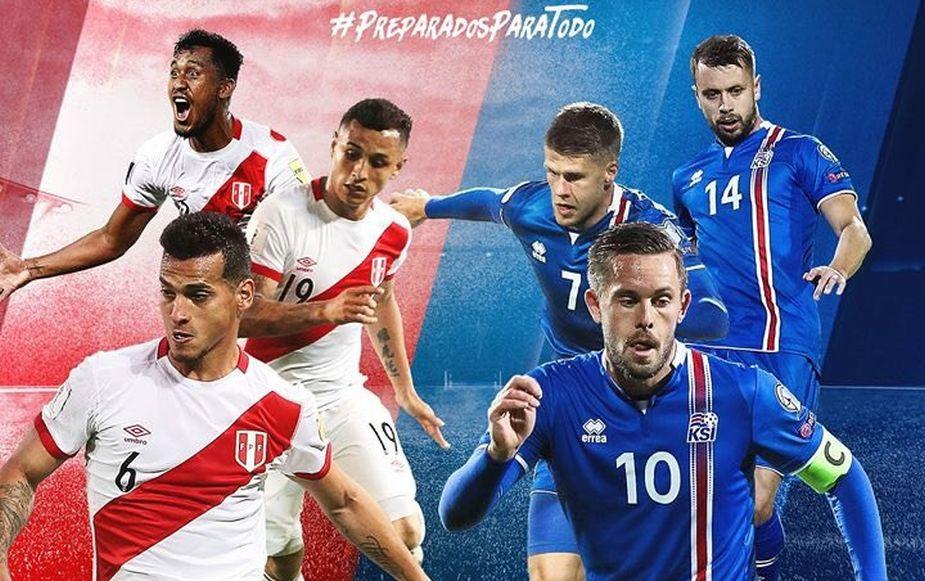 Perú vs Islandia: fecha, hora y lugar del amistoso preparatorio para Rusia 2018