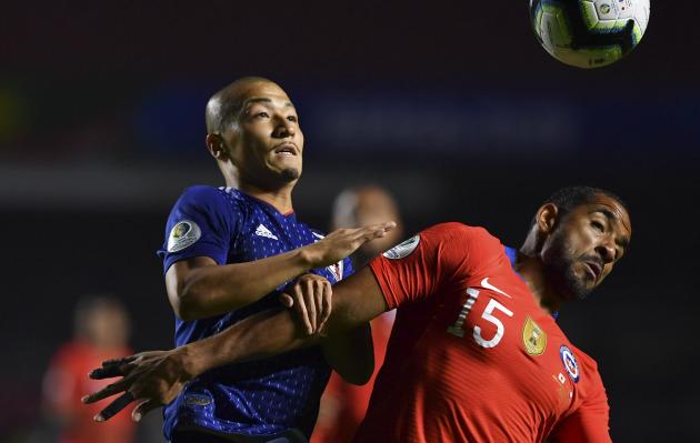 Chile goleó 4-0 a Japón en duelo por el Grupo C de la Copa América Brasil 2019