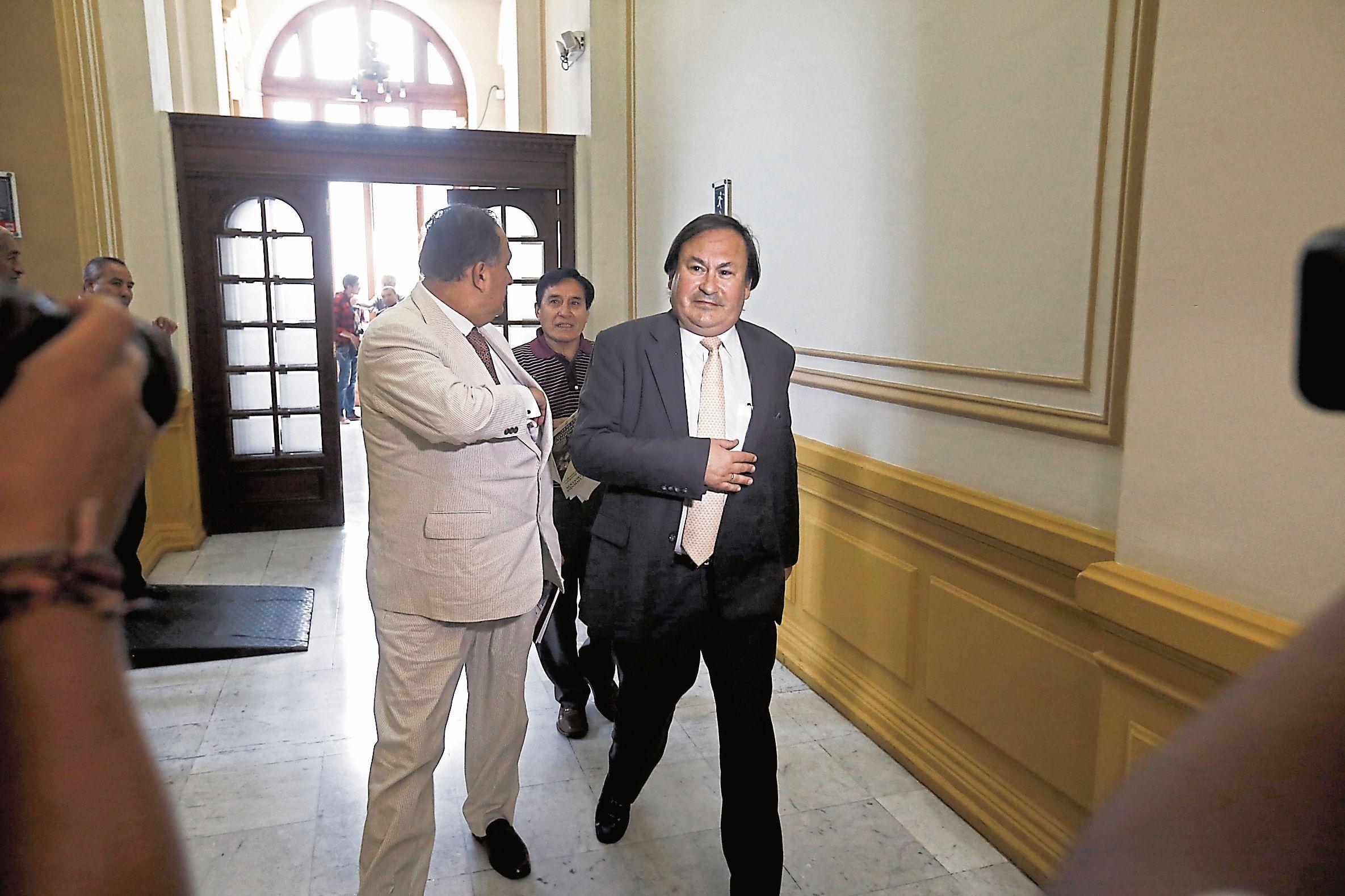 sin palabras. Cuando Cánepa acudió al Congreso, en febrero pasado, no respondió preguntas de los congresistas y guardó silencio. (USI)