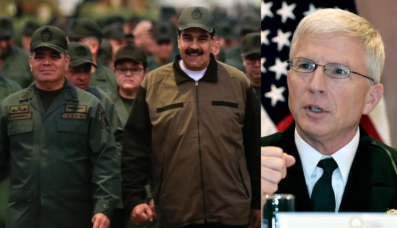 """Militares venezolanos rechazan """"chantaje"""" de jefe del Comando Sur de EE.UU."""