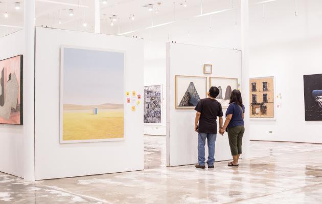 Museo Central presenta retrospectiva de obras ganadoras del Concurso Nacional de Pintura BCRP