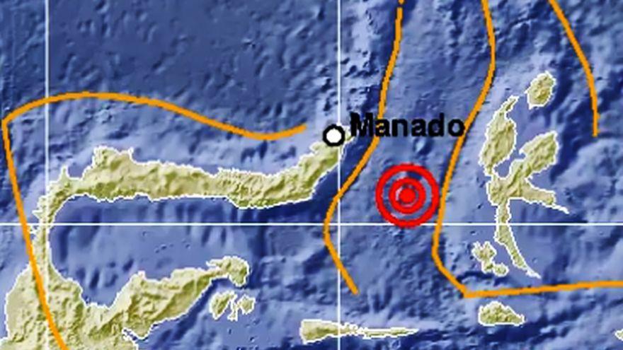 Terremoto en Indonesia de magnitud 6,9 activa alerta de tsunami