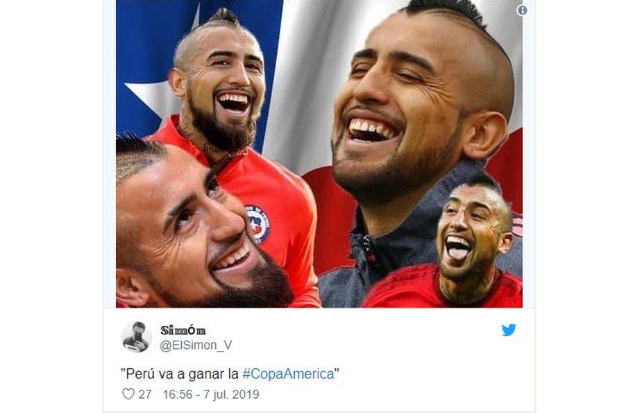 Brasil 2019: los memes que dedicaron desde Chile tras la derrota peruana