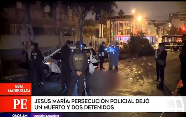 Abaten a presunto integrante de banda de raqueteros tras persecución y balacera | VIDEO