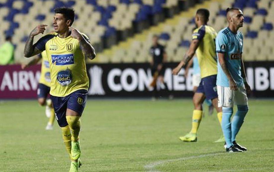Sporting Cristal cayó 4-5 ante Universidad de Concepción de Chile por Copa Libertadores