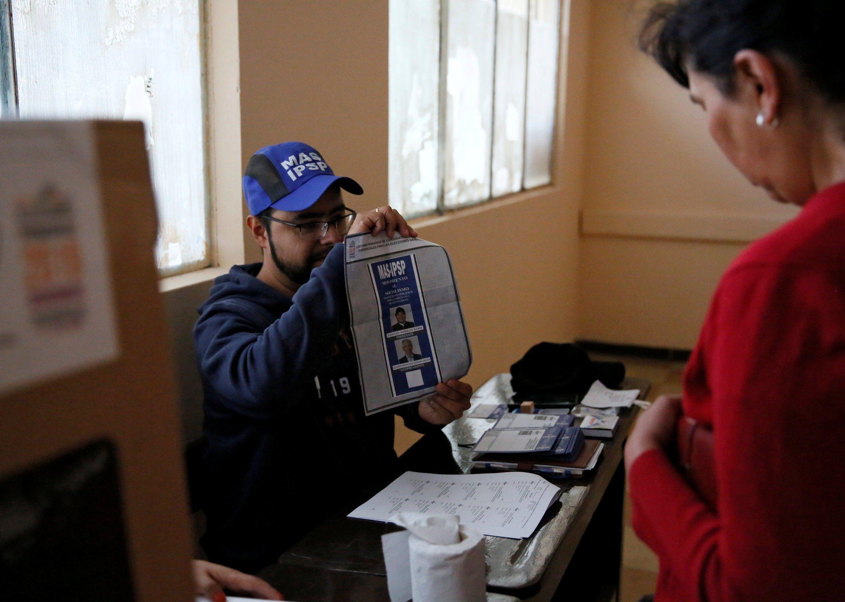 Elecciones primarias en Bolivia. (Foto: Reuters)