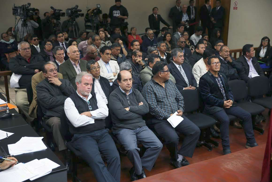 Caso El Frontón: Poder Judicial escuchará hoy acusación contra 35 exmarinos