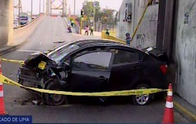 Accidente vehicular deja una persona fallecida en Cercado de Lima