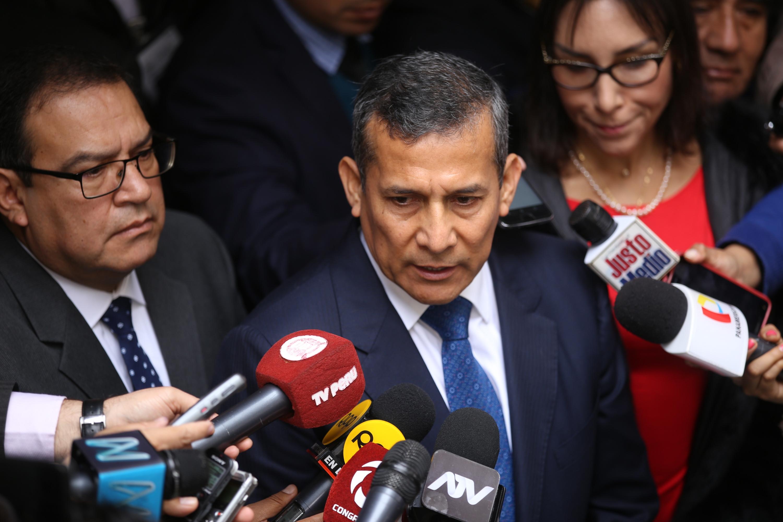 """Humala sobre Gasoducto: """"Jamás me aproveché del poder ni busqué beneficios"""""""