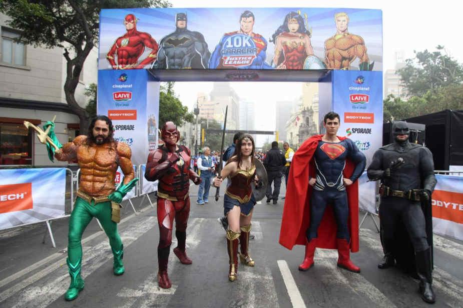 Miraflores: así fue la primera edición de la carrera 'Justice League 10K'