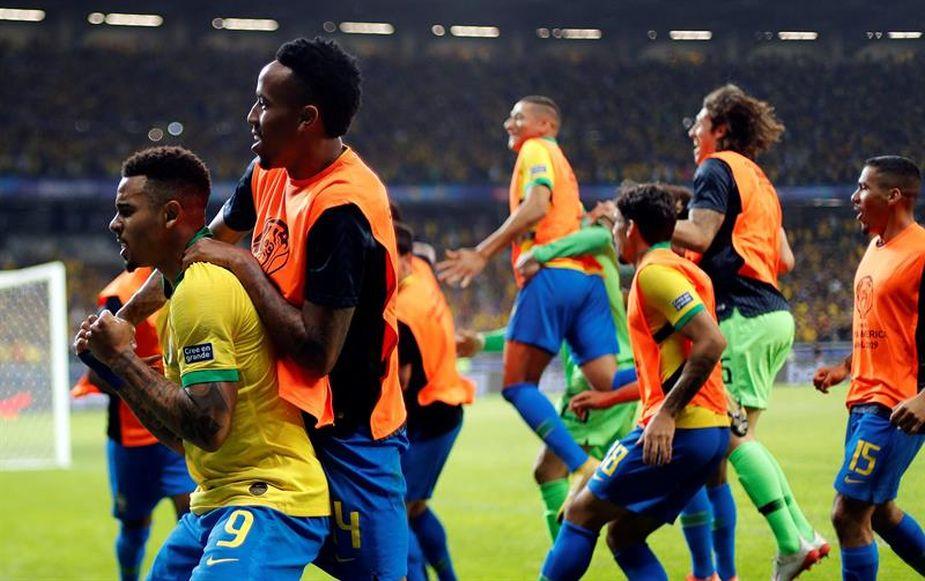 Brasil derrotó a Argentina 2-0 y espera a Perú o Chile en la final de la Copa América