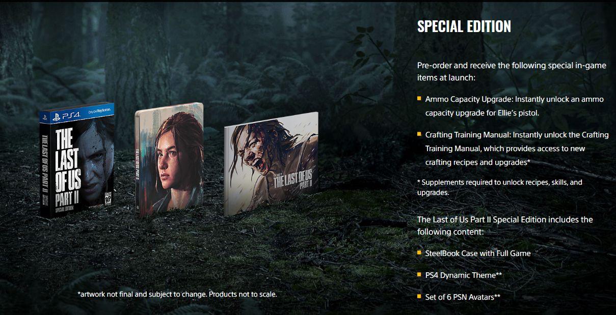 Estas son las ediciones de 'The Last of Us Part II'. (Foto: PlayStation)