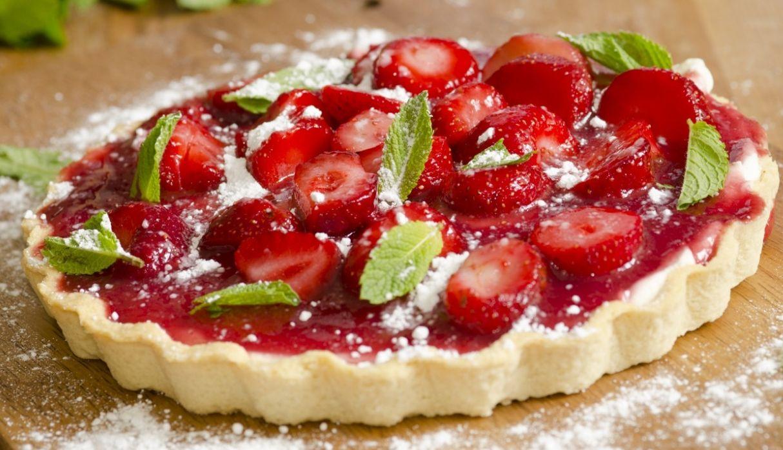 Recetas: aprende a preparar paso a paso un delicioso pie de fresa casero