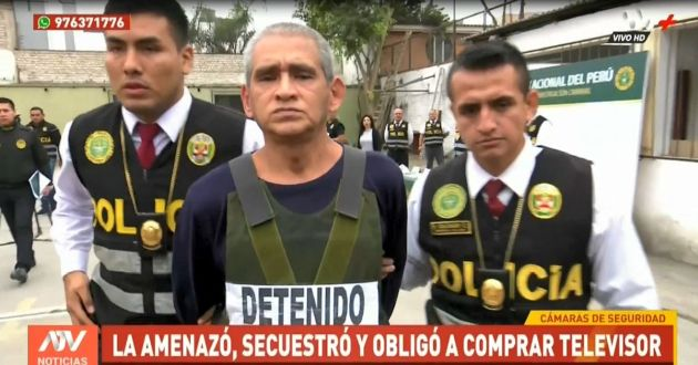 Surco: capturan a falso taxista que obligó a su víctima a comprar un televisor | VIDEO