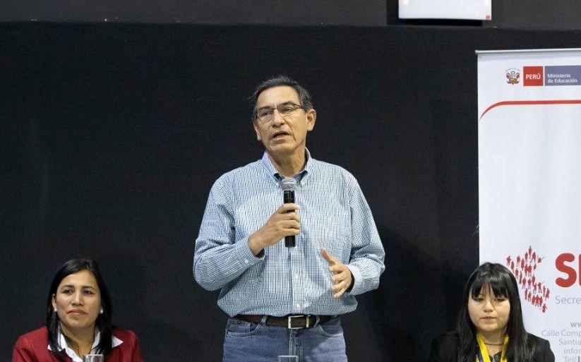 Vizcarra cuestiona que solo se haya aprobado un proyecto de la reforma política