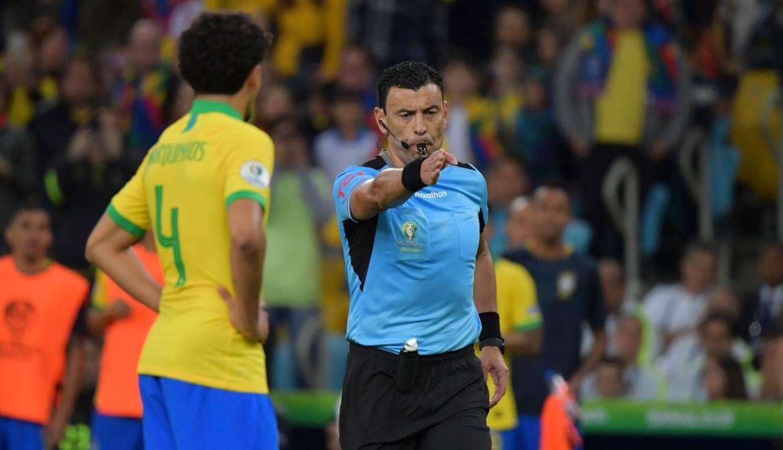 """Árbitro del Perú vs. Brasil: """"Hicimos justicia, era lo más importante"""""""