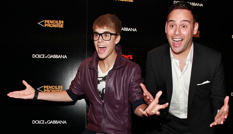Justin Bieber reaparece en público junto a Scooter Braun tras la polémica con Taylor Swift   FOTOS