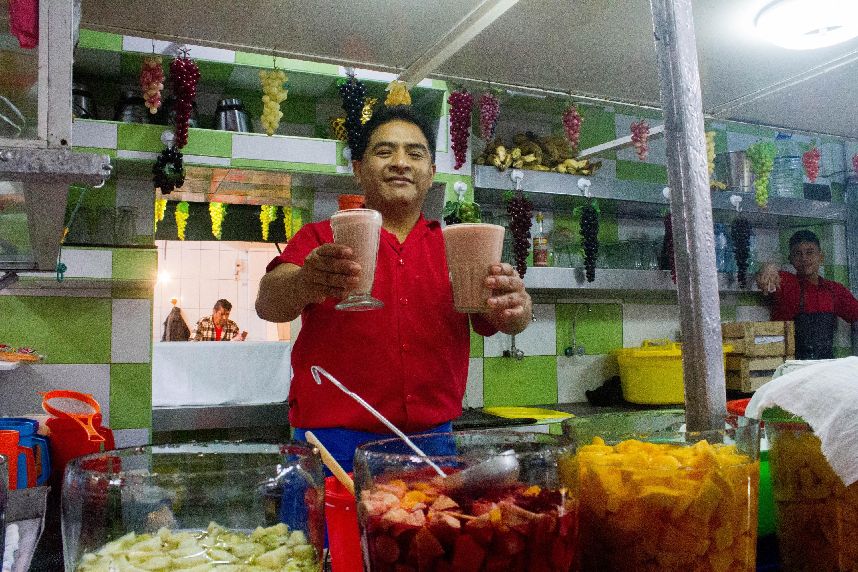 Hernán Flores es uno de los jugeros más buscados del Callao. (Foto: Zandra Carbajal)