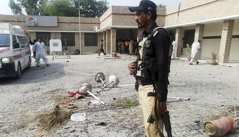 El principal grupo talibán paquistaní, Tehrik-e-Taliban Pakistan (TTP), reivindicó la autoría del atentado. (Foto: AFP)