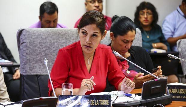 """Milagros Salazar: """"Me pongo a disposición de la Comisión de Ética"""""""