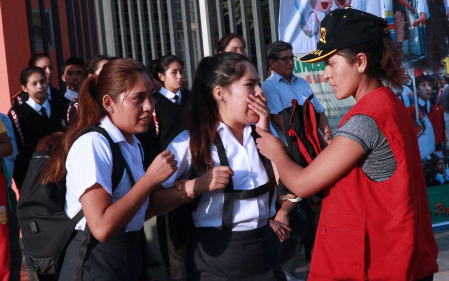 Centros educativos del Callao contarán con un policía en sus instalaciones | FOTOS