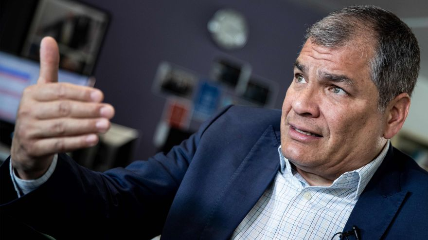 Rafael Correa: 'Assange será extraditado a EE.UU. y su vida será muy complicada'