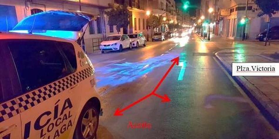 """Lo arrestan por derramar aceite en la calle para ver si """"la gente se mata"""""""