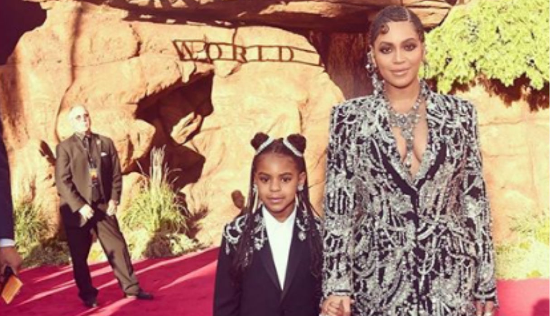 """Beyoncé sumó a su pequeña hija al video de """"Spirit"""" de """"El Rey León"""""""