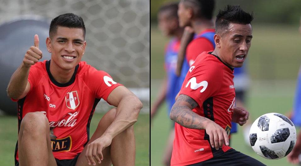 Selección Peruana: Paolo Hurtado y Christian Cueva llegaron a Miami para partido ante Chile