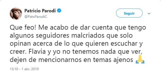 (Twitter Patricio Parodi)