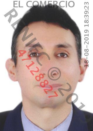 Walter Espinoza, fiscal anticorrupción.