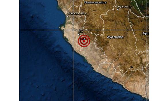 Ica: sismo de magnitud 4,4 se reportó esta noche, informa el IGP
