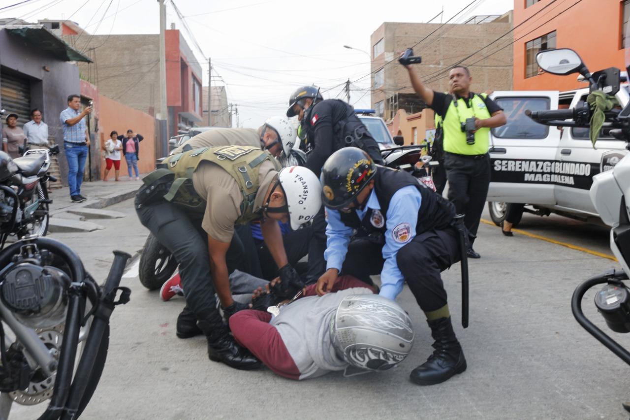 Pueblo Libre declara en emergencia la seguridad ciudadana por 90 días