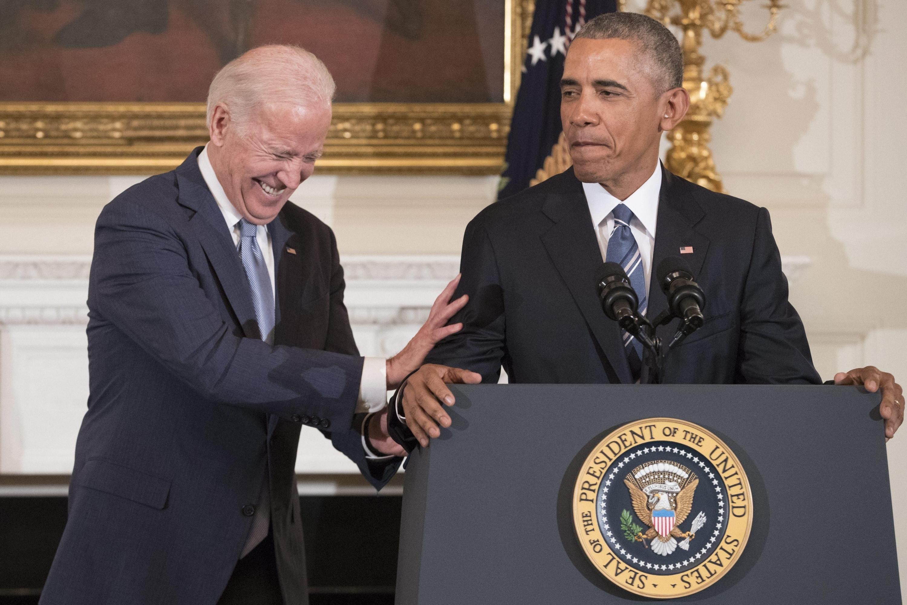 Joe Biden fue vicepresidente cuando Barack Obama era presidente de Estados Unidos. (EFE)