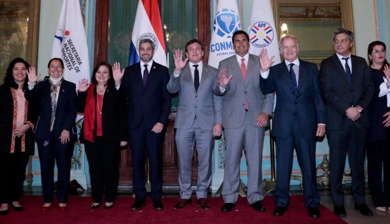 Mundial 2030: Paraguay oficializó candidatura para ser sede junto a Argentina, Uruguay y Chile NCZD