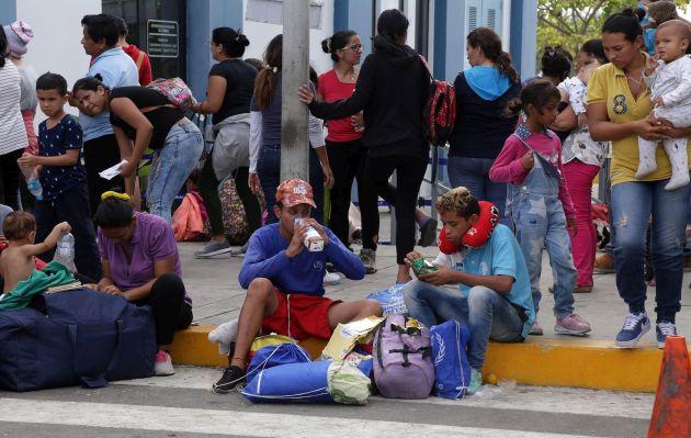 Más de 9 mil venezolanos ingresaron a Perú en último día sin exigencia de visa