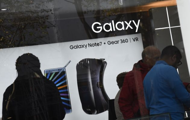 Samsung deshabilitará los Galaxy Note 7 para sacarlos del mercado de EE.UU.