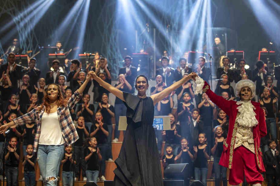 Coro Voces del Sol repone 'Allegro', un repaso desde Mozart hasta Queen en vivo
