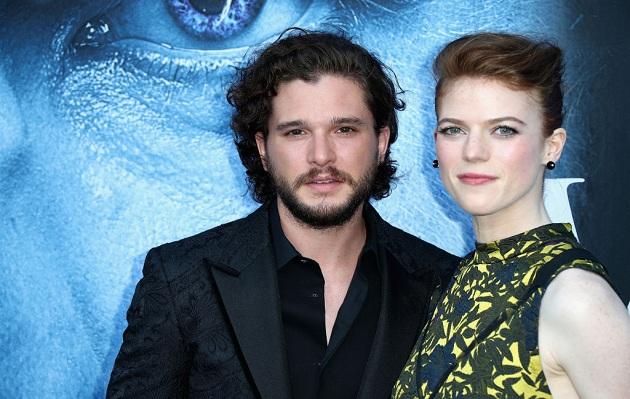 Game of Thrones: Kit Harington y Rose Leslie anuncian su compromiso