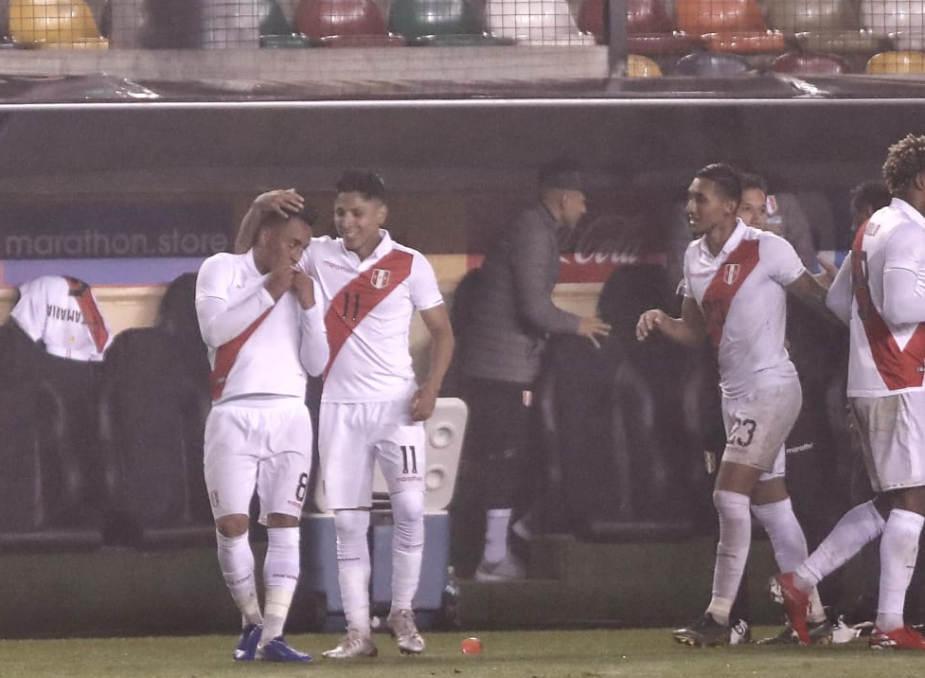 Perú venció 1-0 a Costa Rica en amistoso internacional de fecha FIFA