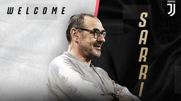 Juventus tras la salida de Allegri anunció a Maurizio Sarri como nuevo entrenador